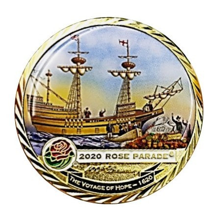 Please continue below for more information about how to get your Rose Parade Coin from a State Colony: